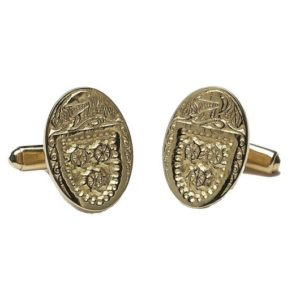 CL300 Large Gents Oval Cufflinks