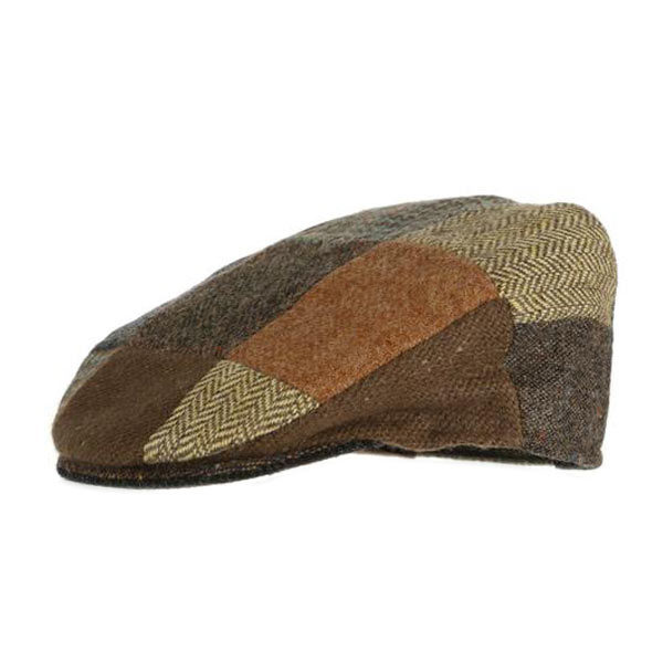 childrens-patchwork-donegal-tweed-cap