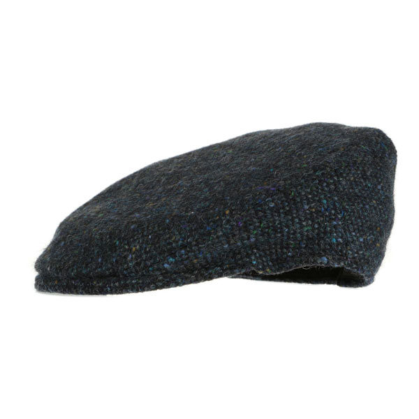 childrens-plain-donegal-tweed-cap