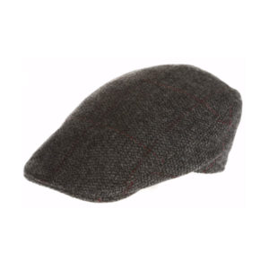 plain-donegal-tweed-touring-cap