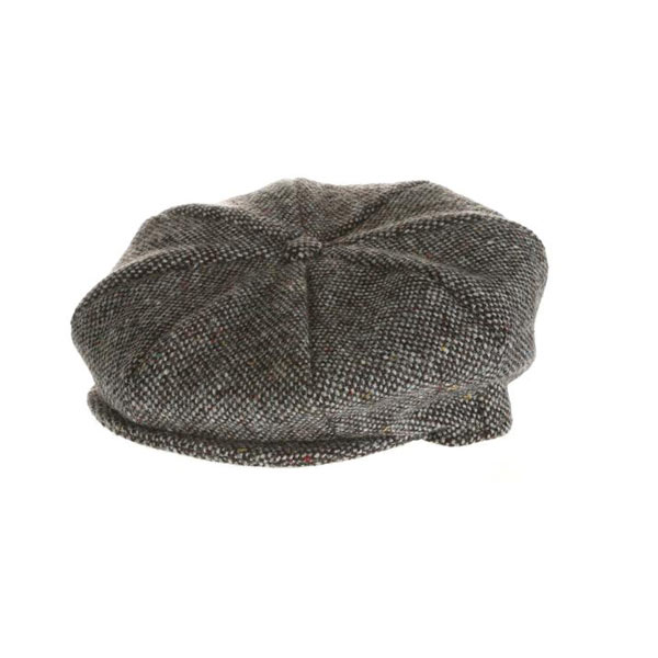 plain-tweed-eight-piece-cap
