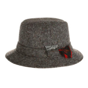 donegal tweed-walking-hat