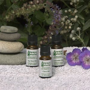 essential oils first aid collection