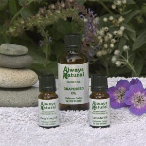 romaintic massage essential oils