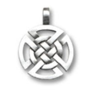 Pewter Choker Celtic Knotwork Design