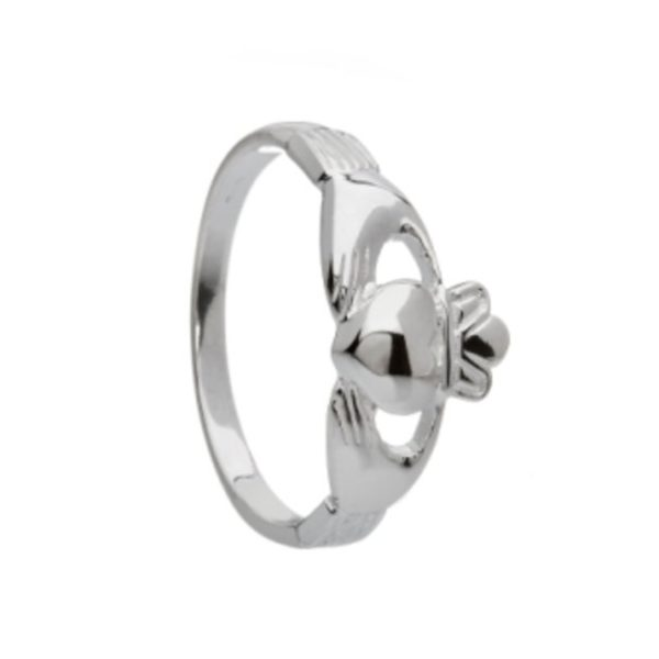 Gents Claddagh Ring in Sterling Silver