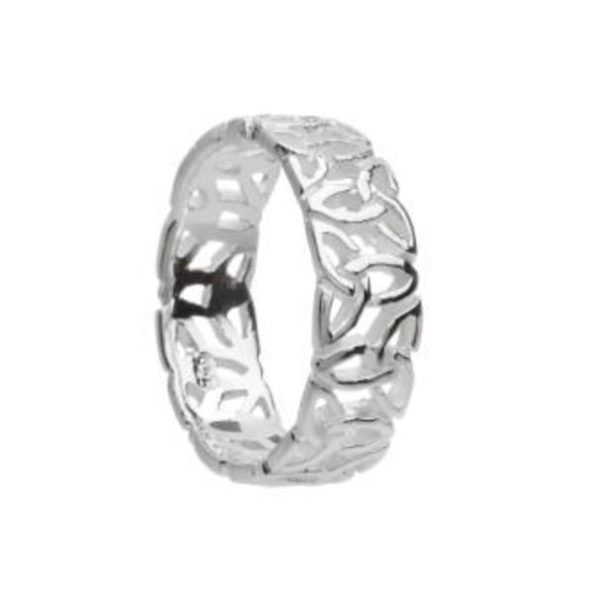 Sterling Silver Trinity Knotwork Ring