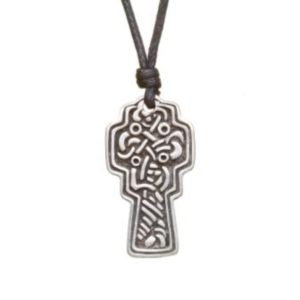 Celtic Cross Pewter Celtic Choker