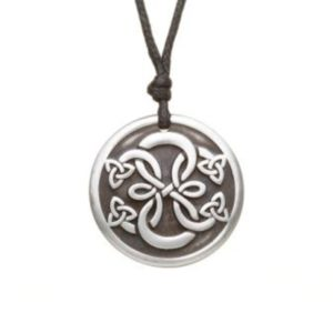 Path of Life Pewter Celtic Choker