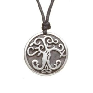 Tree of Life Pewter Celtic Choker