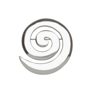 Celtic Spiral Design Brooch