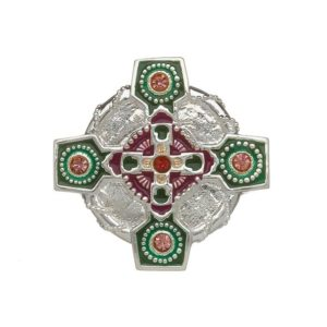 Celtic Cross Irish Dance Brooch