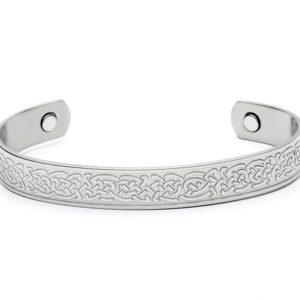 Celtic Kells Knotwork Magnetic Bangle