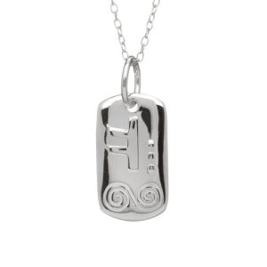 May Silver Celtic Astrology Pendant