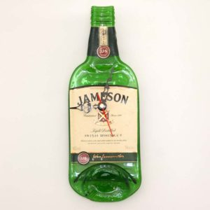 jameson whiskey bottle clock