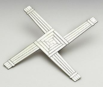 St Bridgets Cross Pewter