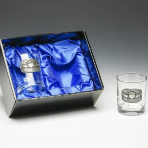 B11GS Whiskey Glasses Claddagh1