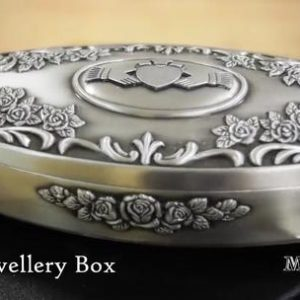 oVAL cLADDAGH jEWELLRY bOX