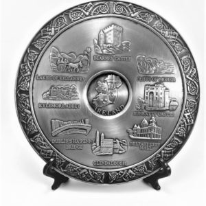 Pewter Ireland Plate