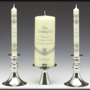 Unity Pewter Candle Holder